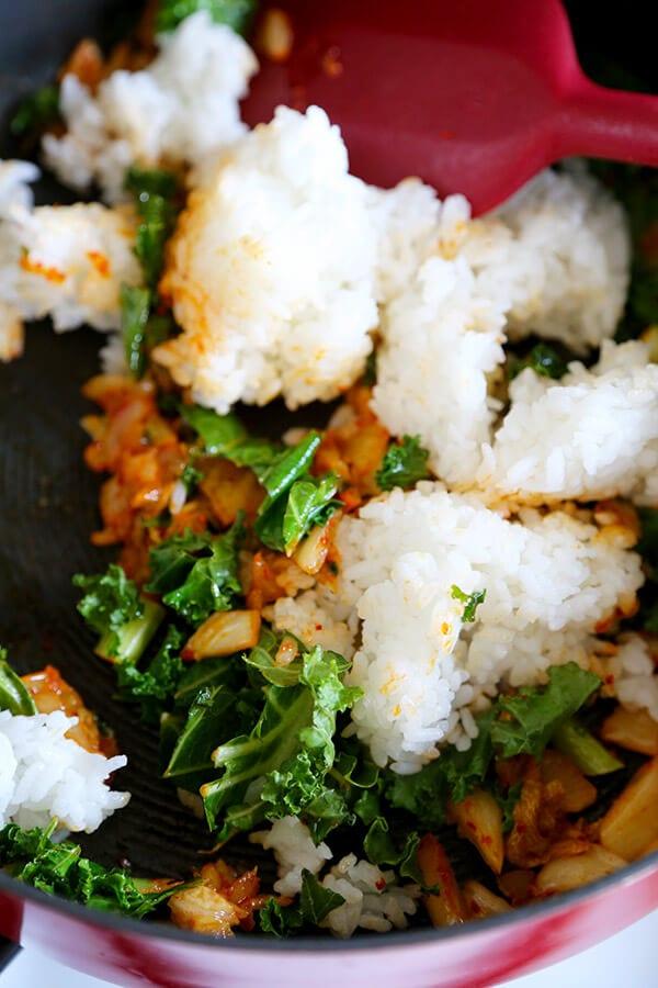 rice-with-kimchi