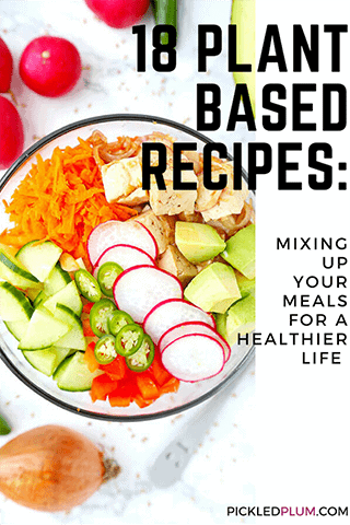 18 Plant Based Recipes: Mixing Up Your Meals For a Healthier Life - Pickled Plum Food And Drinks