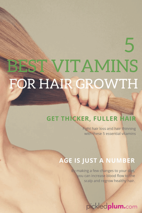 5 best vitamins for hair growth - pickled plum food and drinks