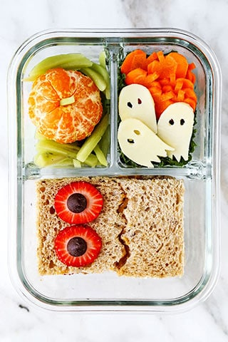 Healthy Halloween School Lunch Pickled Plum Food And Drinks