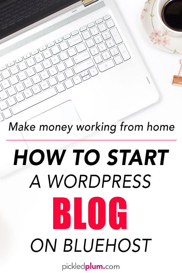 Starting a blog on wordpress to make money