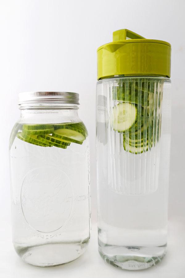cucumber water pitchers