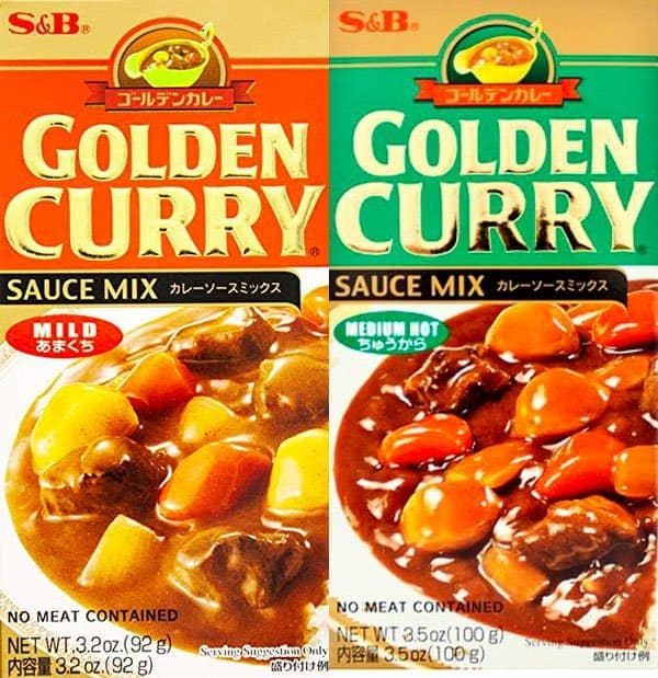 golden curry instant curry