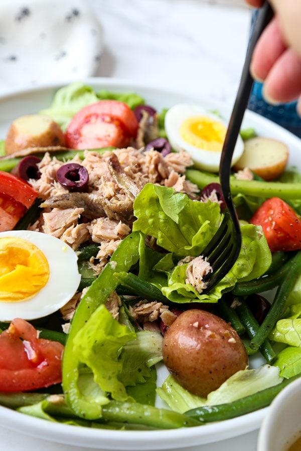 recette de salade nicoise