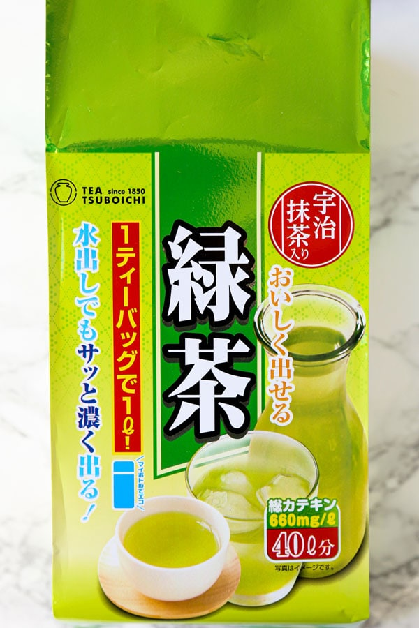iced green tea bags