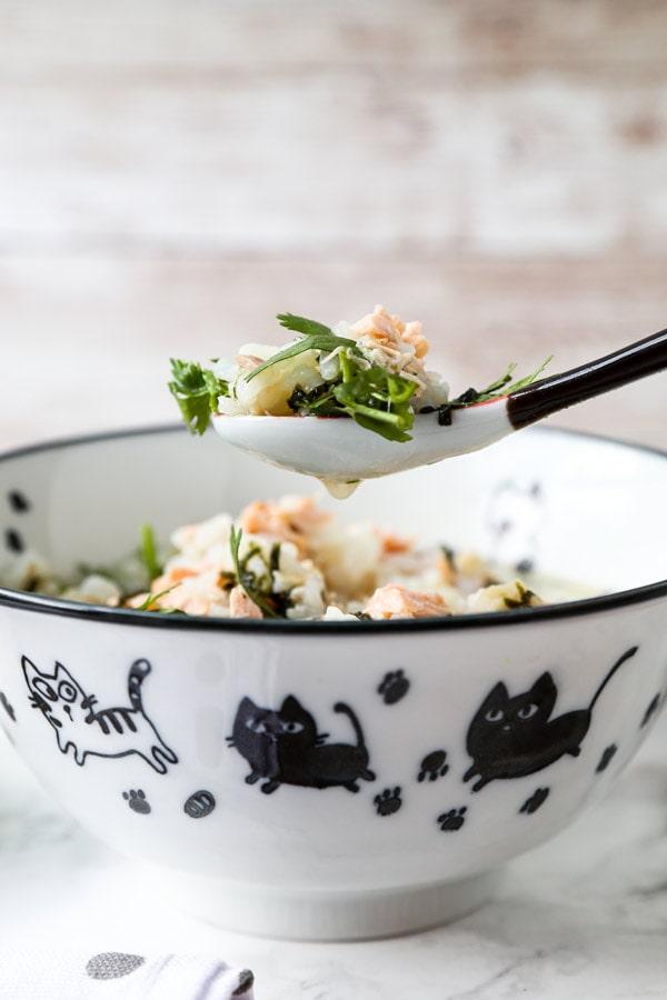 スプーン一杯のお茶漬け-桜漬け|  pickledplum.com