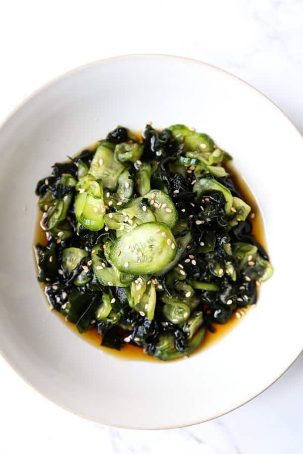 Japanese Cucumber Salad (Sunomono)