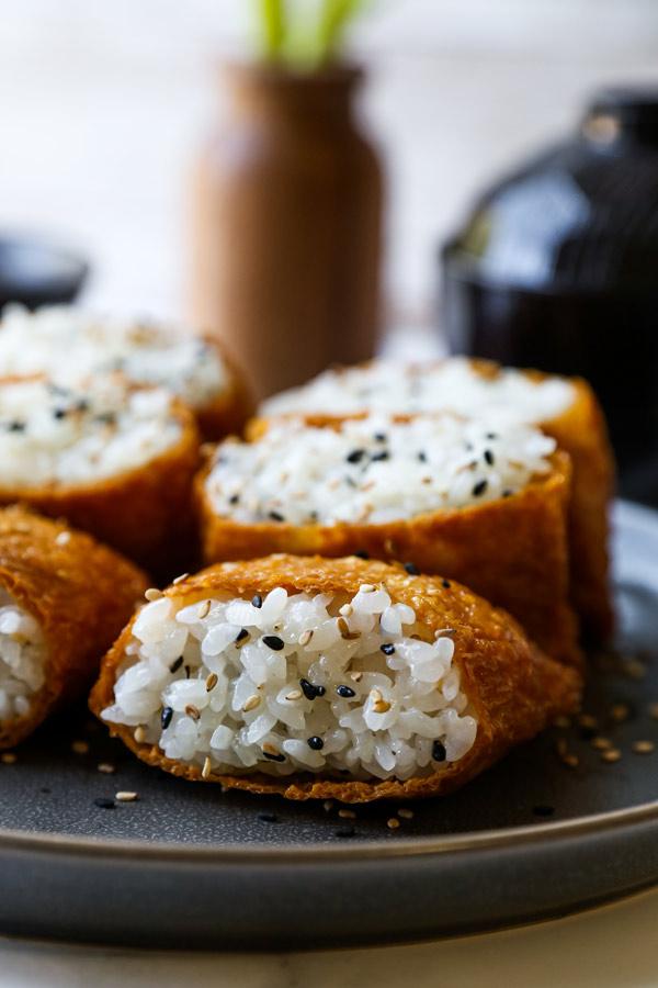 Inari Sushi (Inarizushi) | pickledplum.com
