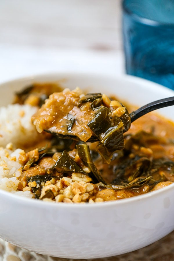 west african peanut soup | pickledplum.com