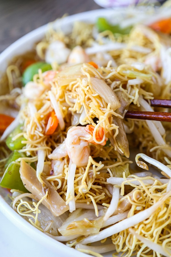 Easy Cantonese-Style Chow Mein (Sara Udon)