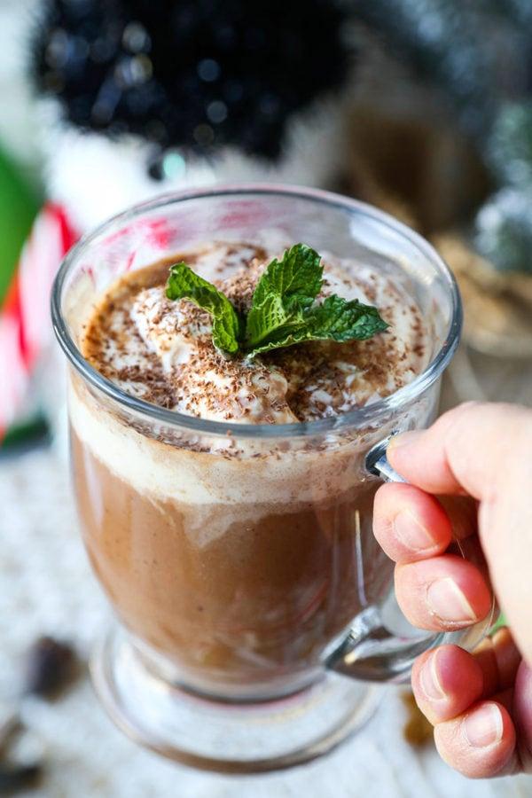 merry hot chocolate sake