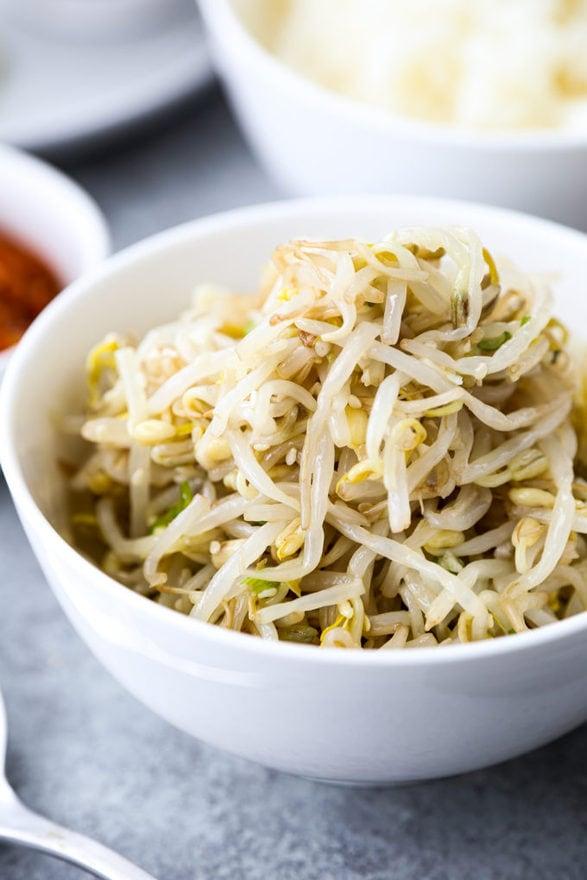 Korean Bean Sprouts Salad