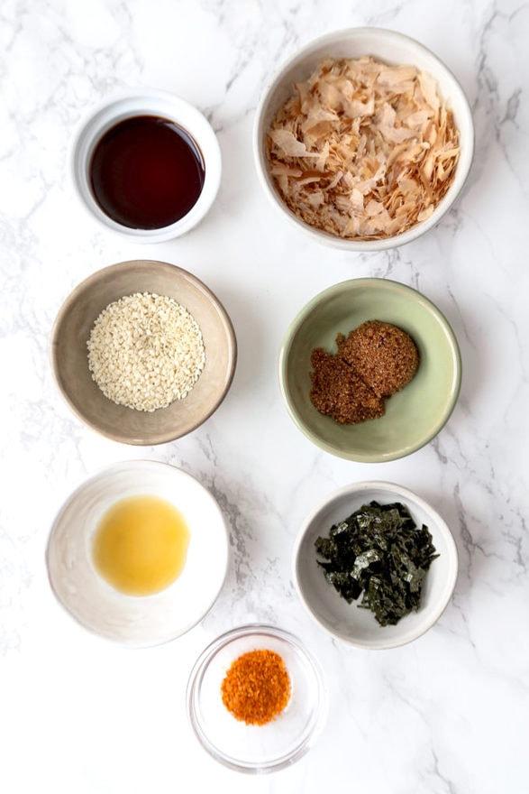 ingredients for furikake