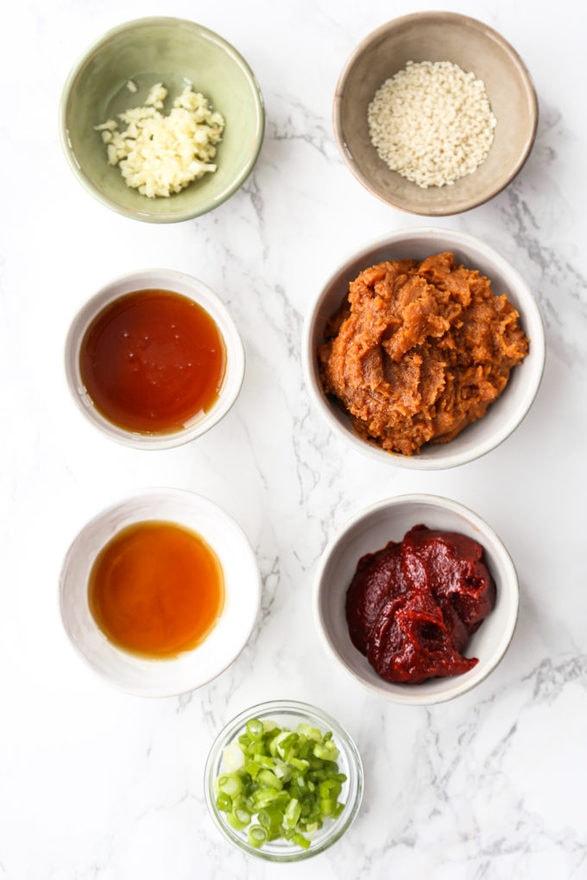 ingredients for ssamjang