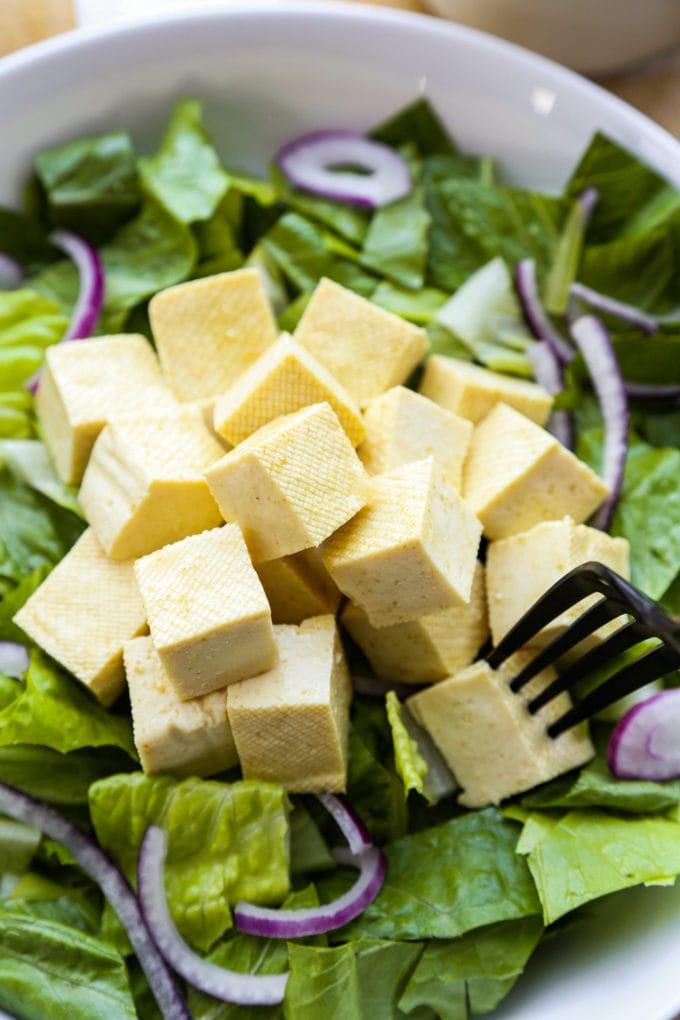 Tofu salad marinade