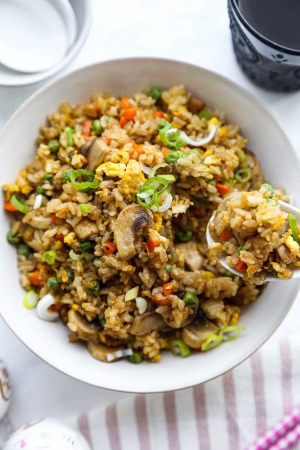 Basic Fried Rice (Restaurant Style)