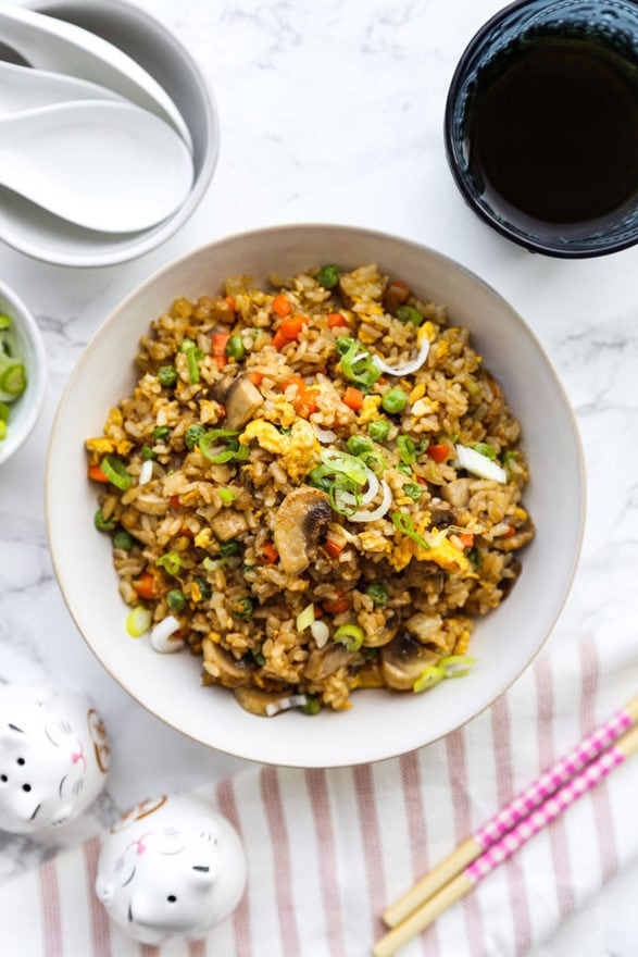 Basic Fried Rice (Restaurant Style)