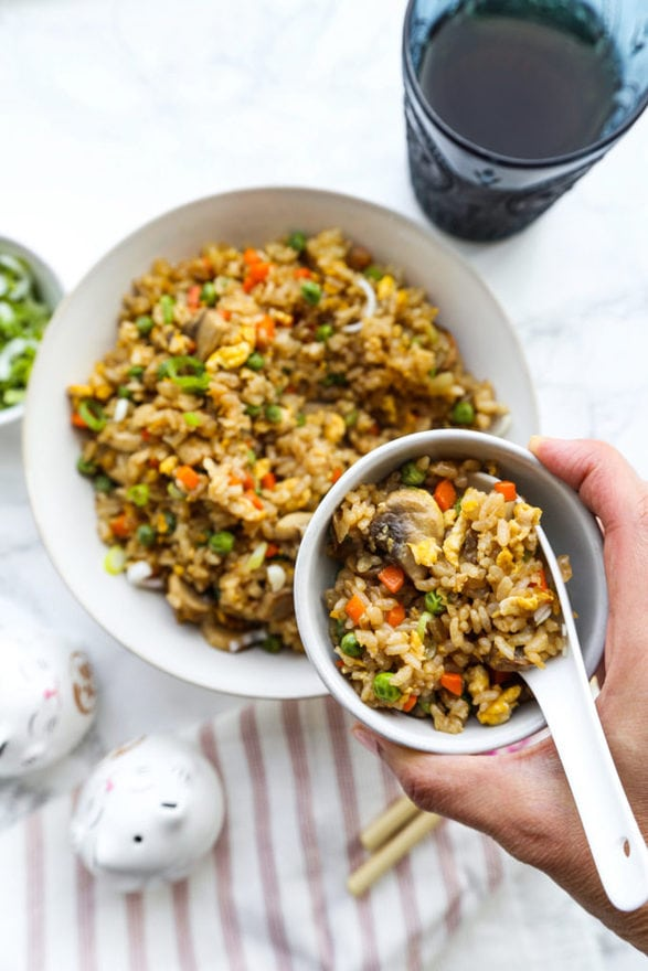 Chinese Fried Rice (Restaurant Style) - Recipe