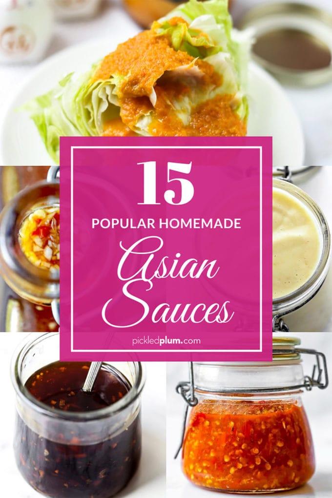 15 best homemade Asian sauces