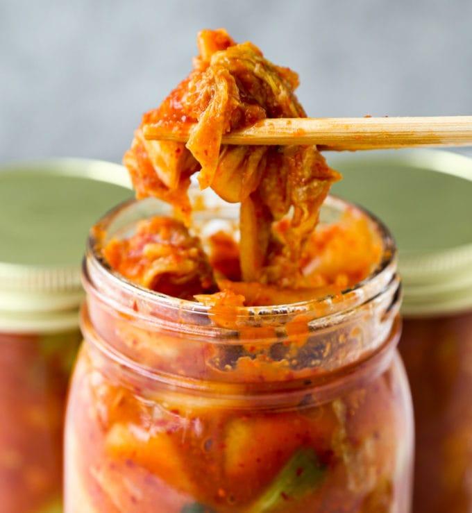kimchi ramen topping