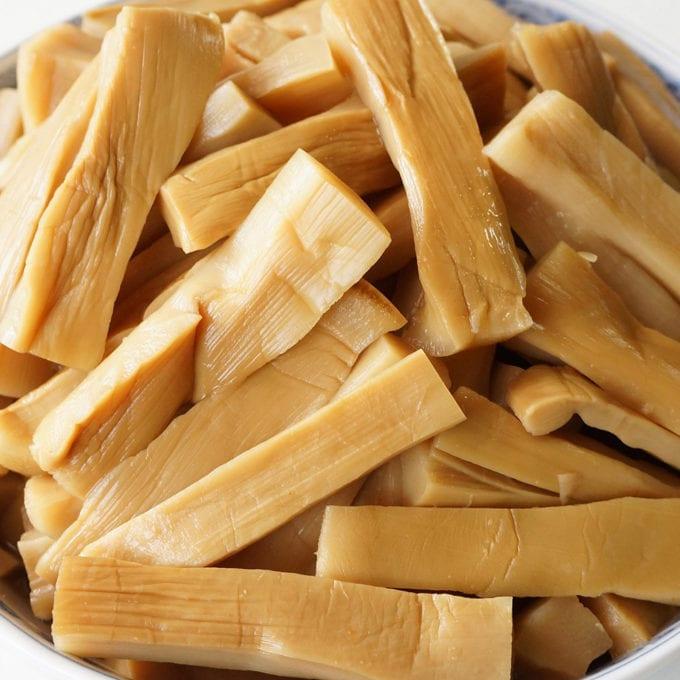 menma - seasoned bamboo shoots
