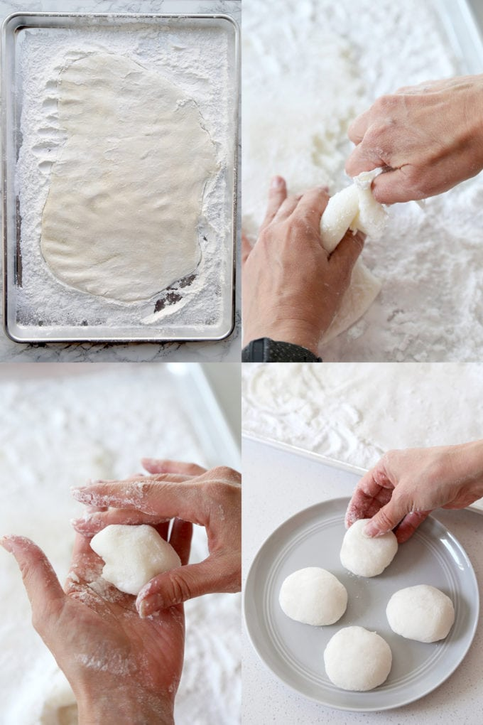 making mochi from scratch