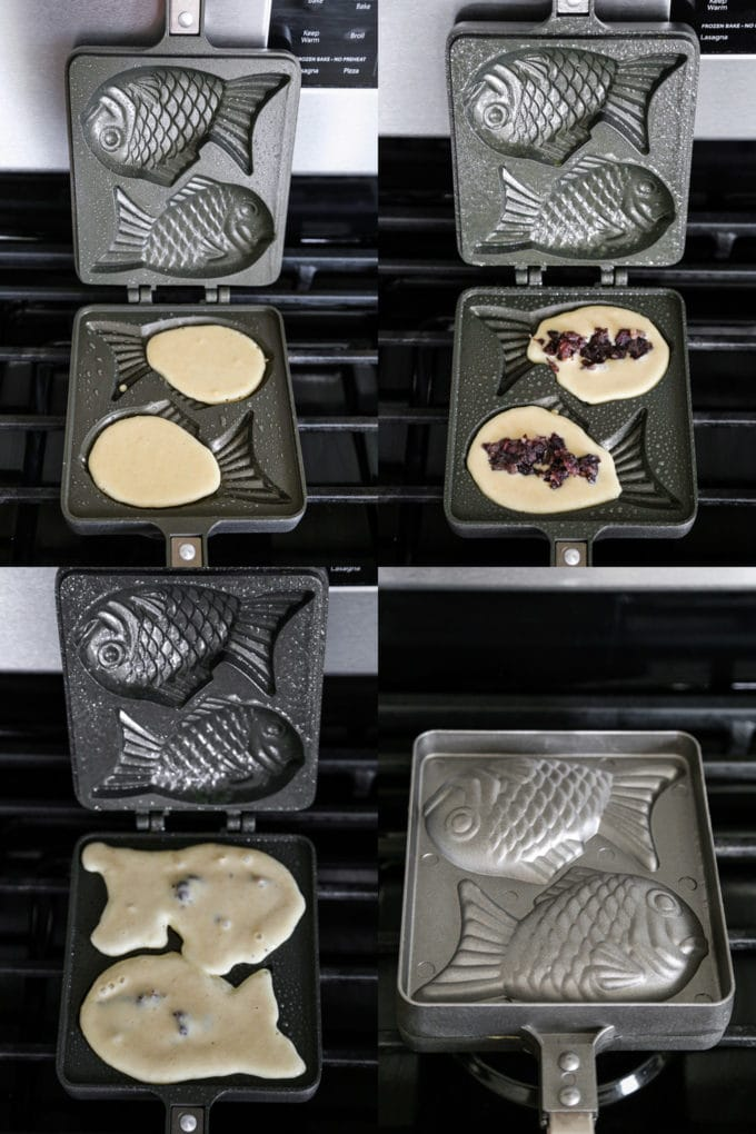 how to make taiyaki from scratch