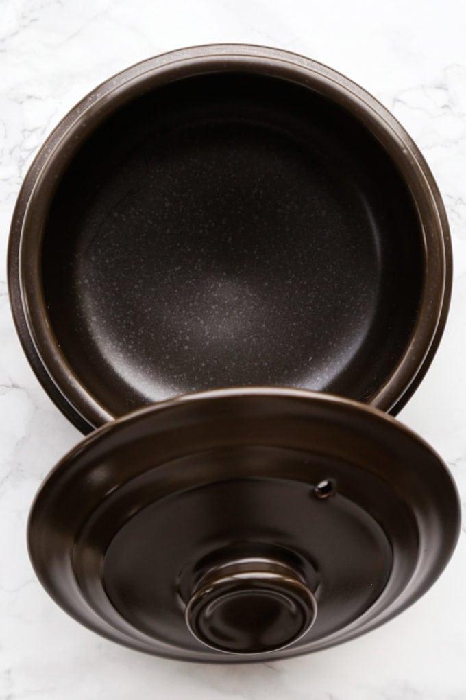 Korean dolsot stone pot