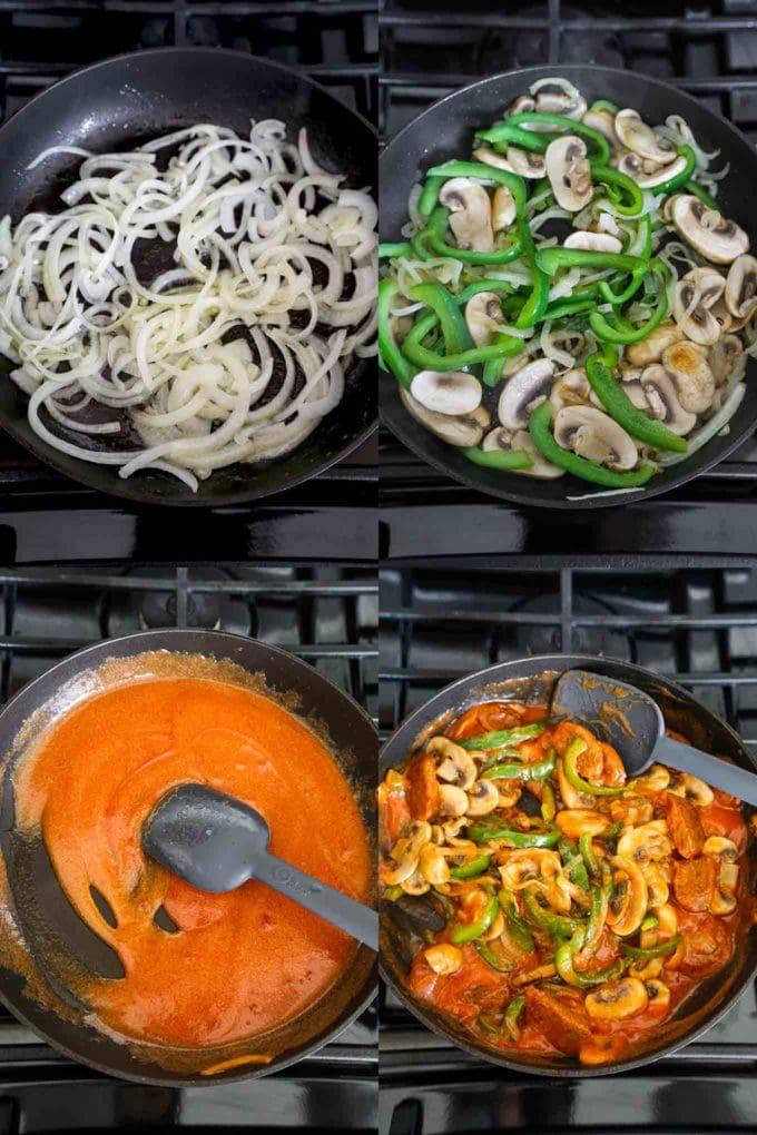 how to make spaghetti napolitan