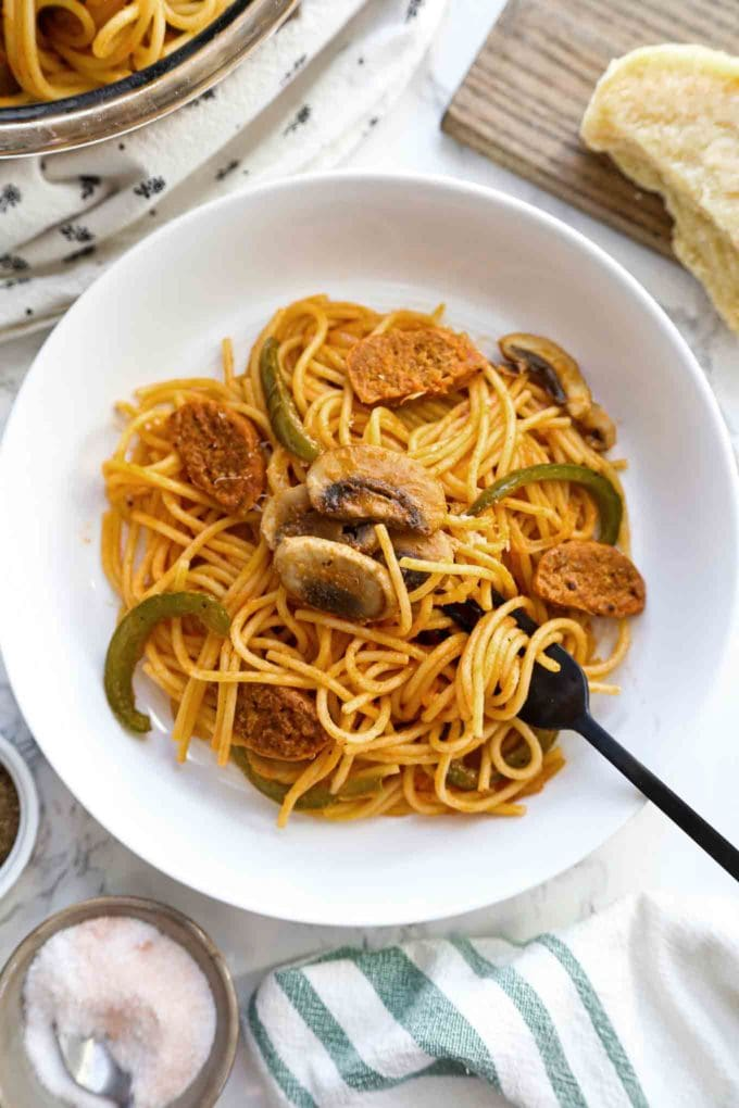 Spaghetti Napolitan - naporitan
