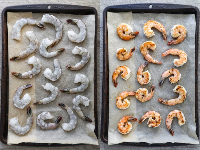 how to cook shrimp in the oven