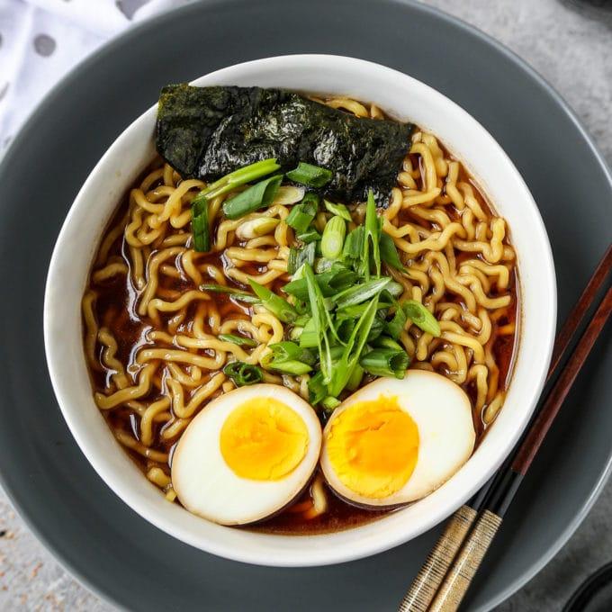 shoyu ramen - soy sauce ramen