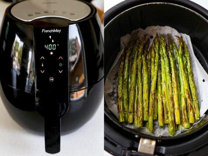 How to make air fryer asparagus