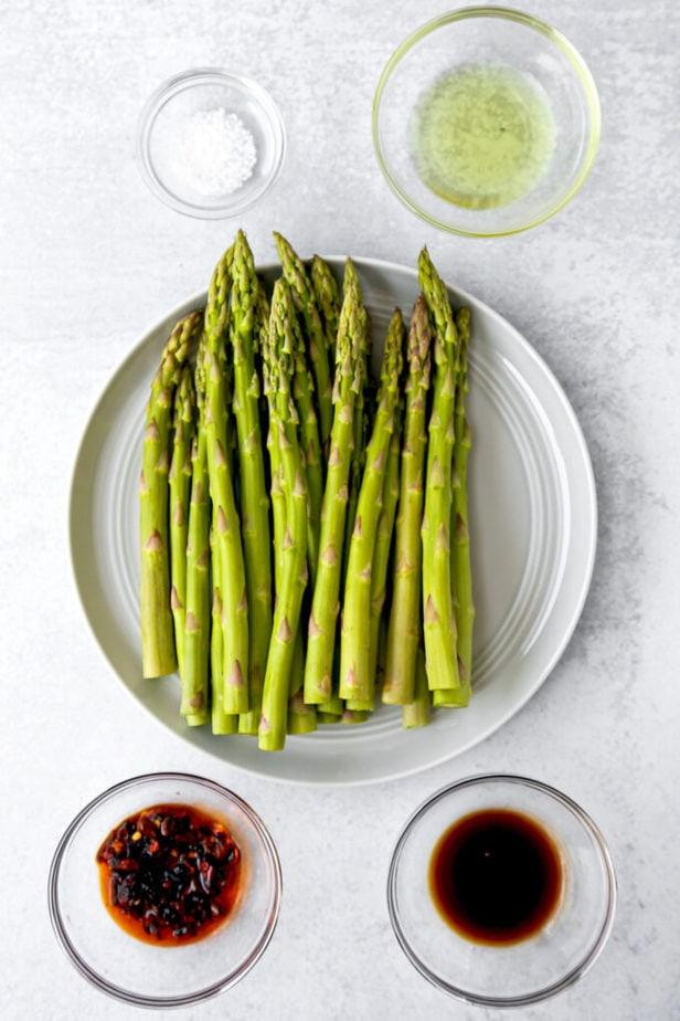 ingredients for air fryer asparagus